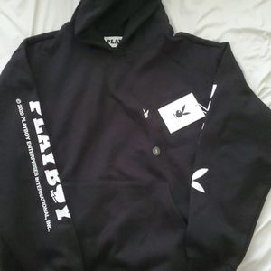 Playboy by Pacsun Logo Premium Pullover Hoodie